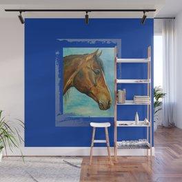 Princess Blue - Arabian Horse portrait Wall Mural
