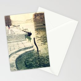 Marble Steps - Frits Thaulow -1903 Stationery Cards