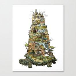 THE TORTOISE Canvas Print