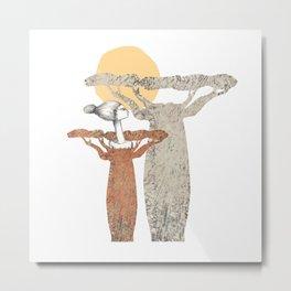 madame baobab Metal Print