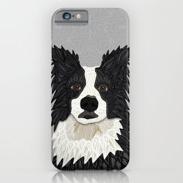 Beautiful Border Collie iPhone Case