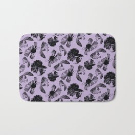 Beta Fish Lavender Bath Mat