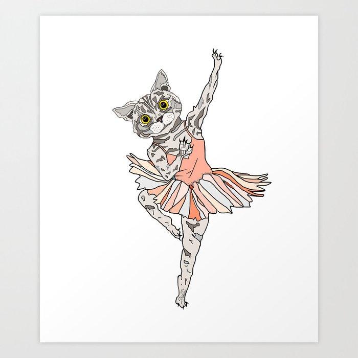 нужно картинки кошка балерина информация, размещенная