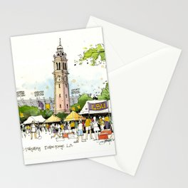 LSU Game Day Stationery Cards