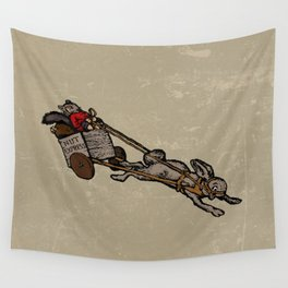 The Nut Express Wall Tapestry