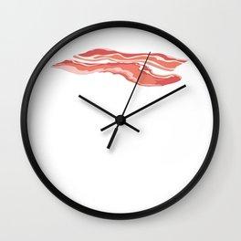 Jewish Bacon Is Kosher Right Funny Keeping Kosher Gift Wall Clock