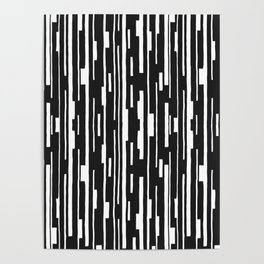 Abstract Code Poster