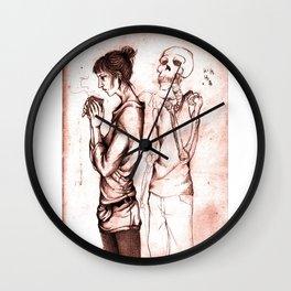the death Wall Clock