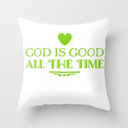 God Is The Best Throw Pillow