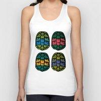 turtles Tank Tops featuring ninja shells by tama-durden