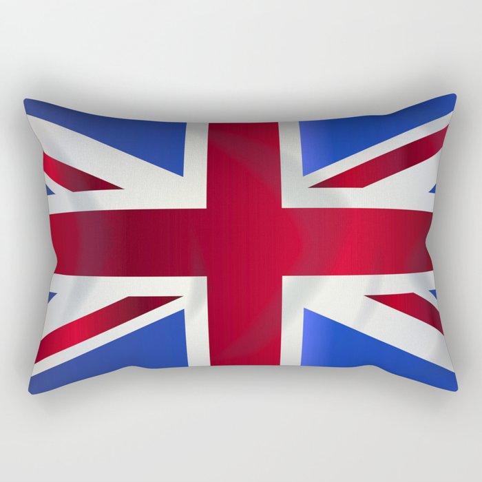 Union Jack Flag Rectangular Pillow