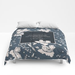 I can bear pain myself but I couldna bear yours... Jamie Fraser Comforters