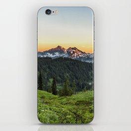 Looking Towards Tatoosh Range iPhone Skin