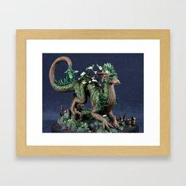 The Spring Tree Dragon Framed Art Print