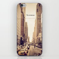manhattan iPhone & iPod Skins featuring Manhattan by Jake Metzger Photography
