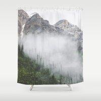 fog Shower Curtains featuring Fog by Celestine Aerden