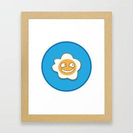 Mr Egg.Fried Framed Art Print
