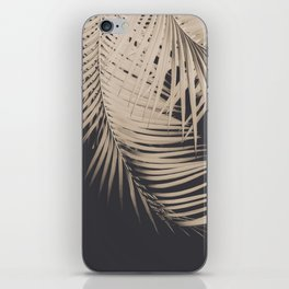 Palm Leaves Sepia Vibes #1 #tropical #decor #art #society6 iPhone Skin