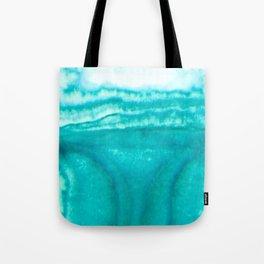 Teal Brainwaves Tote Bag