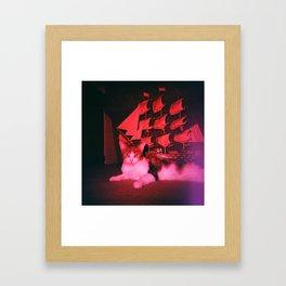 Capt. Phoebe Framed Art Print