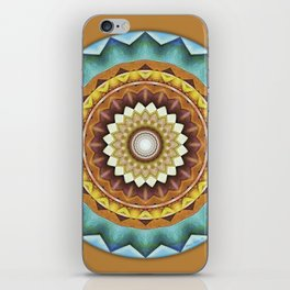 Mandalas from the Heart of Peace 8 iPhone Skin