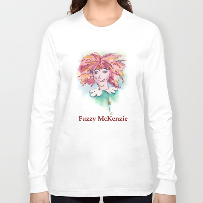 Fuzzy McKenzie Long Sleeve T-shirt
