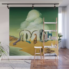 The Persistence of Influence Wall Mural