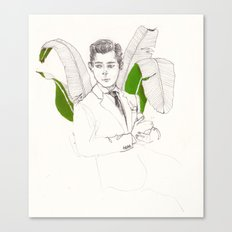 Garçon Canvas Print