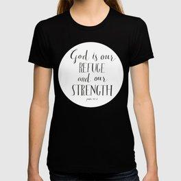 Psalm 46:1 T-shirt