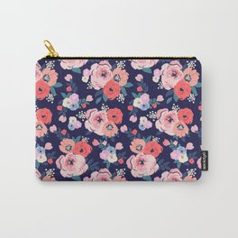 Aurora Floral - medium Carry-All Pouch