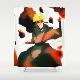 Avatar Kyoshi II Shower Curtain