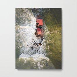 Italian fishing house trebuchet Metal Print