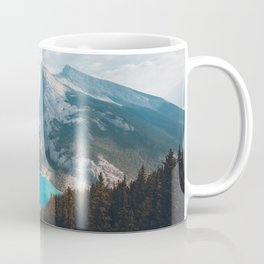 Mount Rundle East End of Rundle EEOR mountains Canmore Alberta Canadian Rockies Canada Coffee Mug