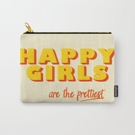 Happy Girls - typography by happyplum