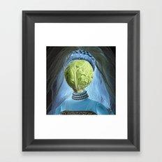 Windsbraut Framed Art Print