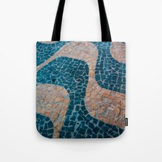 Color at the ground Tote Bag