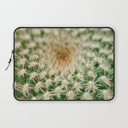 Cactus close-up shot, natural abstract background Laptop Sleeve
