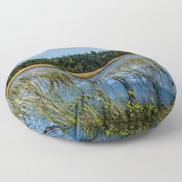 LakeWithReed Floor Pillow