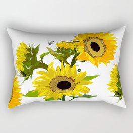 Tournesol d'été Rectangular Pillow