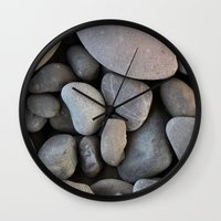 rocky Wall Clocks featuring Rocky by Claire Laminen Photo