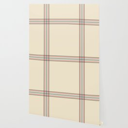Filigree Fine Lined Cross Wallpaper