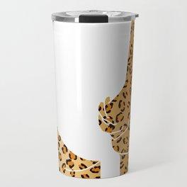 leopard butt Travel Mug