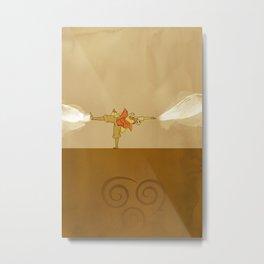 Avatar Aang Metal Print