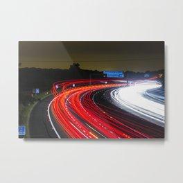 road lazer Metal Print