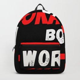 Worlds okayest Boss Backpack