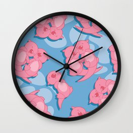 Significant Otter Wall Clock