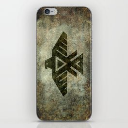 Thunderbird, Emblem of the Anishinaabe people - Vintage version iPhone Skin
