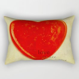 LOVE is all you need Rectangular Pillow