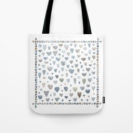 Heart rocks Tote Bag