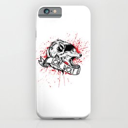 Red Beast of Lonesville iPhone Case